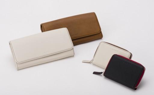 H2911-02 LUEGO カラーステッチ長財布・カードケースセット