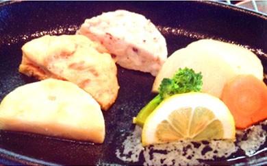 三種の海鮮ステーキセット