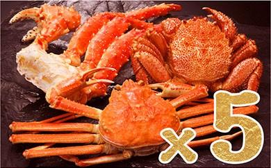 メガ盛り!総重量7.5kg超え!『三大ガニ』豪華食べ比べセット☆(冷凍保存可能)