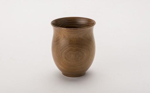 B3001-05 新庄のウッドウェア 木製湯呑