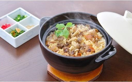 030-022 米沢牛炊き込みご飯の素プレミアム(牛肉約2倍)