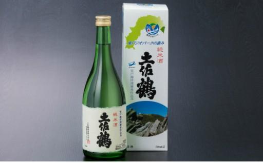 NM-42A8土佐鶴室戸ジオパークの恵み純米酒720ml