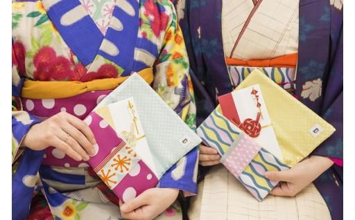 [A-3301] 越前織工場がつくるかわいい袱紗 「オリボンフクサ」