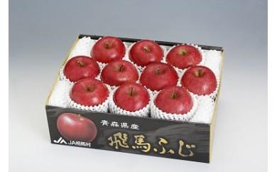 糖度14度以上のブランドりんご「飛馬ふじ」約3kg(10玉)