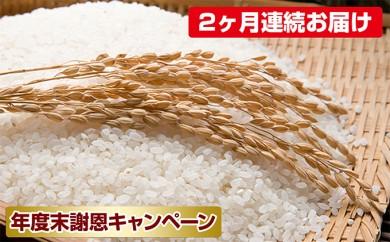 [№5792-0241]【2ヶ月連続お届け】郷の有機使用特別栽培米 ひとめぼれ 12kg