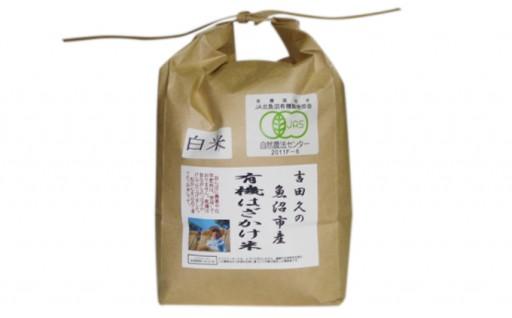 [№5762-0205]有機はざかけ米 2kg(白米)