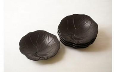 鎌倉彫博古堂 小皿「つわぶき」