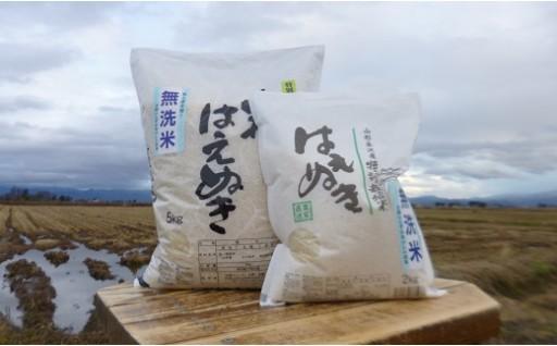 005H30-002  【H30年産】米沢・米 無洗米シリーズ(はえぬき)