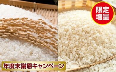 [№5792-0233]郷の有機使用特別栽培米 ひとめぼれ 7kg + ササニシキ 5kg