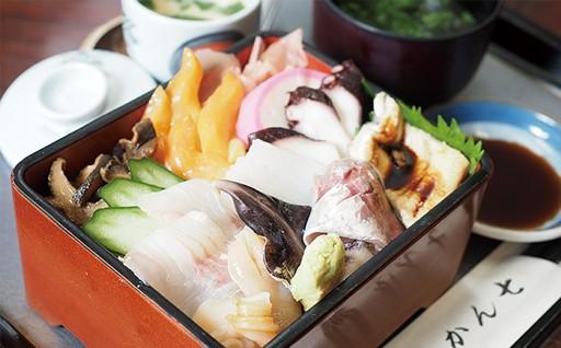 味のかん七 「海堡丼」ペア食事券
