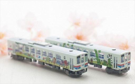 Y076 鉄道模型 若桜鉄道WT3000形2両セット