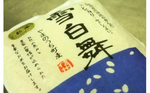 [№5658-0152]山ノ内町産コシヒカリ 『雪白舞』5kg