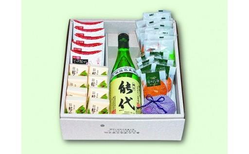 【B12】地酒とお菓子の詰合せB