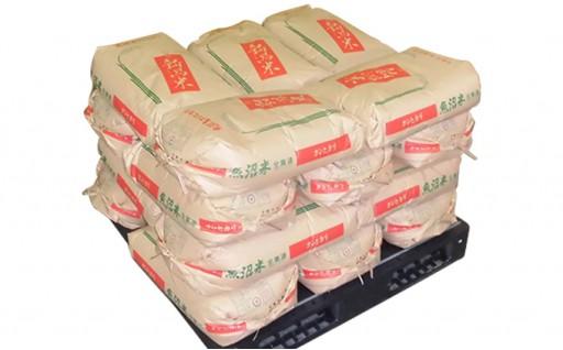 [№5762-0286]新潟県認証【特別栽培米】魚沼産こしひかり 30kg玄米×20