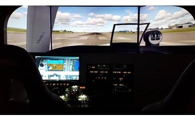 【R102】飛行機マグネット&パイロットが教える操縦体験10分【27pt】