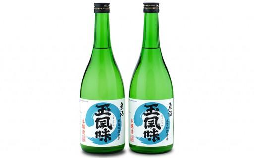 [№5762-0338]【魚沼の地酒】魚沼玉風味 2本セット
