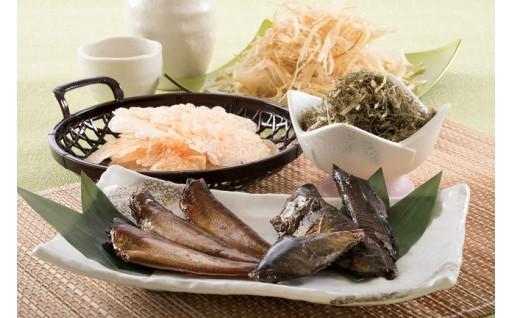 [A-0605] ご飯のお供・酒の肴「味付たら」 と 早崎商店オリジナル商品詰め合わせ
