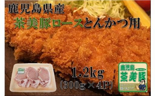749 鹿児島県産『茶美豚』ロースとんかつ(1.2kg)