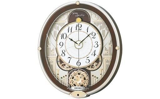 D005 セイコーカラクリ時計【RE577B】