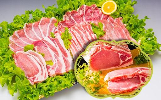 [D-02] 北海道産豚がっつり詰合せ