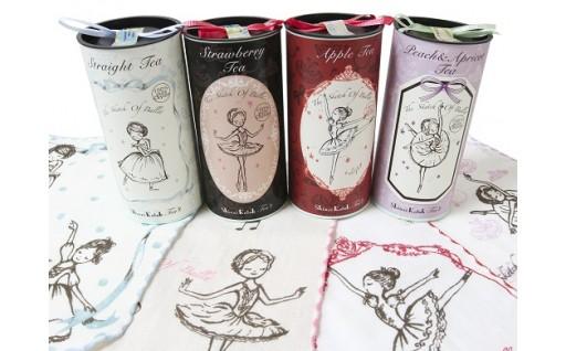 Shinzi Katoh バレリーナの紅茶&タオルセット