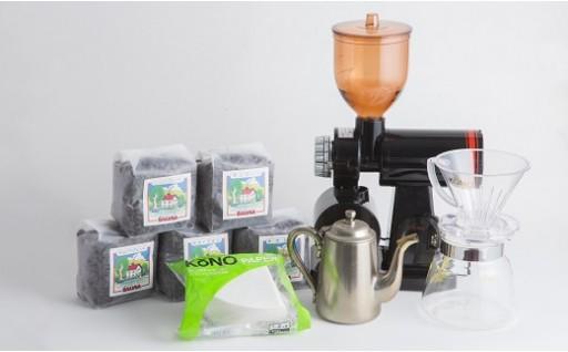 【E05】お家が本格カフェに変身!SALVIA COFFEE プロフェッショナルドリップセット(1~2杯用)