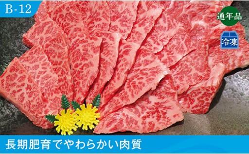 B-12 備前黒毛和牛 焼き肉セット【700g】