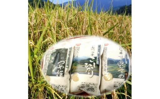 (1)-02松江三米「松江産三品種白米6㎏セット」