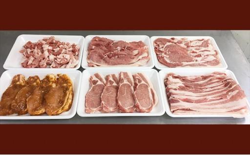 [№5862-0645]【4月申込限定!】絶品ハーブポーク肉汁したたる至福の6種盛