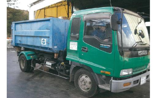 M007 粗大ごみ回収・処分4tトラックコース