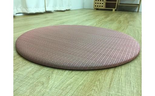 AK-0114 円形ユニット畳(色:ピンク)