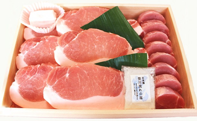 743 放牧薩摩黒豚ヒレ&ロースステーキ
