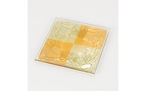 11B-1箔ガラス「四角」