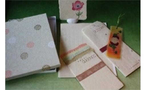 18067.「肥前名尾和紙」和紙封筒セット