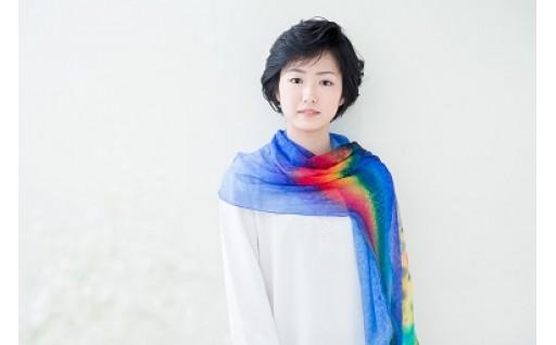 [№5825-0203]虹色ストール