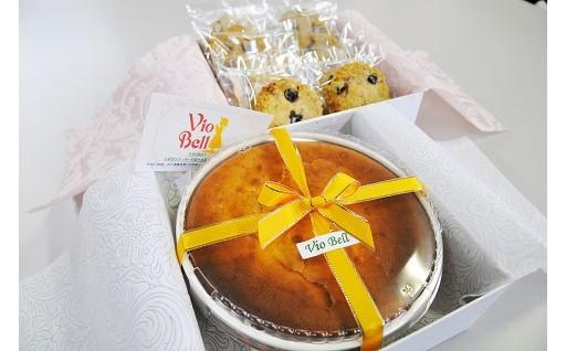 A-7 手作りクッキーとチーズケーキ