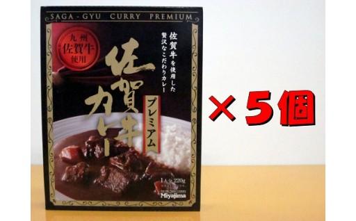 佐賀牛カレープレミアム 220g(1人分)×5個