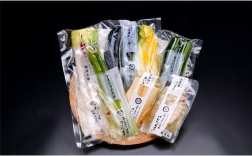 F601:ご飯がすすむ!四季の漬物詰合せ【隔月】