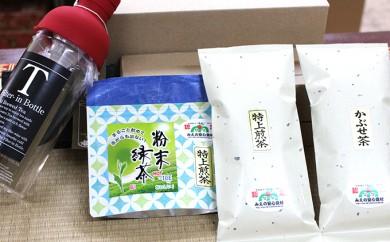 [№5829-0203]【石榑茶】お茶とフィルターインボトルの詰合せ