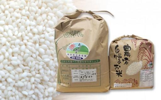MS-38 特別栽培米こしひかり(5kg)ともち米(3kg)
