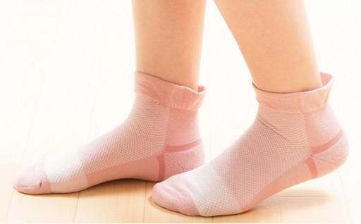 [№5544-0024]口ゴムがなくしめつけない靴下3足セット(婦人)