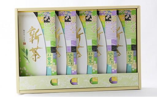 C92-OB 【新茶】高級煎茶一号100g×2、高級煎茶100g×3 詰合わせ