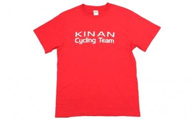 [№5829-0206]キナンサイクリングチームオリジナルTシャツ(レッド)