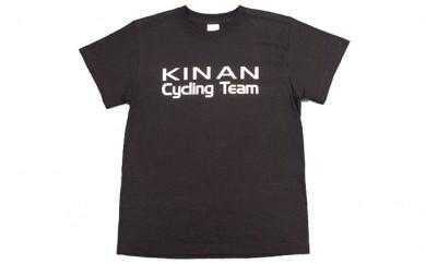 [№5829-0208]キナンサイクリングチームオリジナルTシャツ(ブラック)