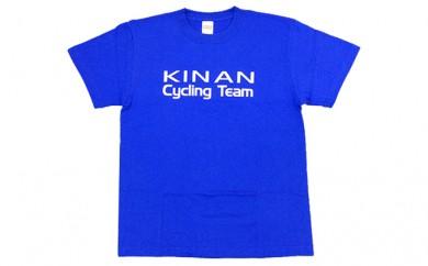 [№5829-0207]キナンサイクリングチームオリジナルTシャツ(ブルー)