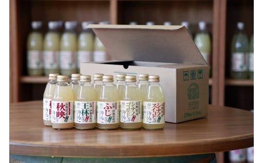[30044] 信州まし野ワイン 長野県産りんごジュースセット(200ml×10本)
