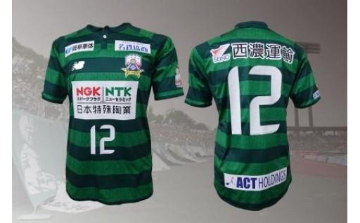 FC岐阜オーセンティックユニフォーム(フィールドプレイヤー1st、背番号12)