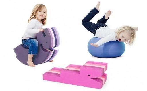 170-001 ボーネルンド 6ヶ月からのからだ遊びのパートナー ボブルス遊べる家具セット