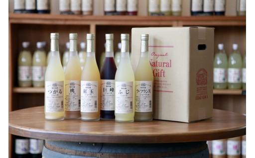 [30058] 信州まし野ワイン 長野県産フルーツジュースセット(500ml×6本)