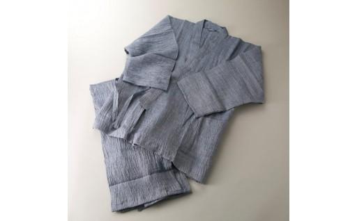 G14 「近江ちぢみ」作務衣[高島屋選定品〕